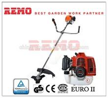 52cc petrol garden grass strimmer multi brush cutter in green flexible shaft brush cutter