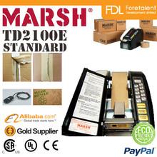 Marsh TD2100 E Semi Automatic Box Sealing Tapes Staples Machine