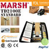 Marsh TD2100 E Semi Automatic Box Sealing Tapes Staples Machine