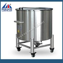 2015 FLK stainless steel kerosene storage tank with rollers