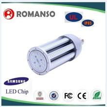 Aluminum+Fan Lamp Body Material and 6000k,4000k,3000k Color Temperature(CCT) e27 led bulb Corn light