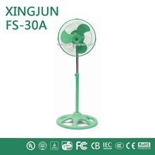 Forno elétrico motor / 10 polegada ventilador de pé com a cor verde