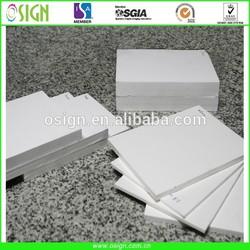 Fire retardant PVC foam board/pvc celuka 1220 x 2440mm