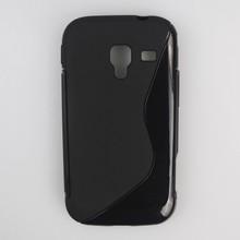S Line TPU Case For Galaxy ace 2 i8160, Soft Silicon Celulares Case