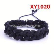 custom woven bracelets braided leather chain bracelet