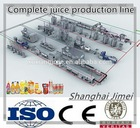 Automatic fruit juice processing machinery/juice machine