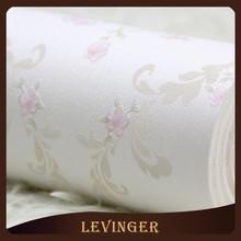 Levinger White Floral Leaf Wallpaper Catalogue