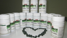 Spirulina Tablets Health Food Supplement