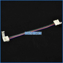 long time to use free solder 12 mm 4 pin rgb led cable 15cm