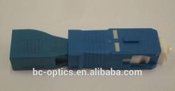 optical lc female sc male fiber adapter
