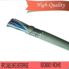 Professional breakout cable db25 pin male to 8 bnc connector ad with high quality