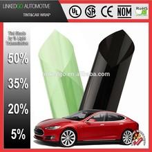 Superior self-adhesive 1.52*30M vlt5%-50% sun control car 2ply SRC tinting film protective paint