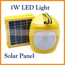 1.5W Solar Panel 9pcs LED with RF Radio Function SD Card Solar Light LED