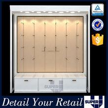 Modern design attractive wooden underwear display cabinet