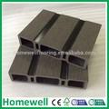 Oco cinza escuro reciclado WPC plástico decks