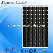 285w 6 inch monocrystalline solar cell price cheap photovoltaic solar panel