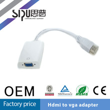 SIPU Hot Sale s-video Vga Rca to Hdmi Converter Hdmi to Vga Cable