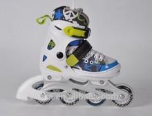Promotive gift led flash roller skate shoes light heel glider street glider flashing roller skate finger roller skates