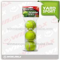 WMY51296 3pcs champion tennis balls,3 balls in a bag top quality tennis balls