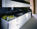Mdf blanco mobiliariodecocina/gabinete de cocina de diseño/