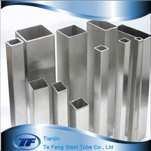 410 High quality stainless steel square tube/stainless steel square pipe/square stainless steel furniture legs