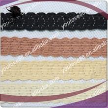 1.1cm wide super elastic lace, super fine swiss lace, fancy lace