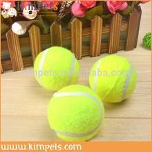 Cheap pet dog cat toy tennis ball