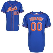 New York Mets Customized Personalized Cool Base Blue/Cream/Grey/White/Camo Baseball Jerseys, Any Number&Name, All Stitched, OEM