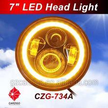 fantastic quality Super luminous DC 12v 24v with hi/lo beam 7inch headlamp