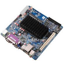 Intel Atom N455 Single Core 1.66Ghz Fanless Mini-ITX Motherboard N455HN-D12 DC power LVDS