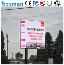 indoor and outdoor curtain wall led display 2015 LEEMAN LED mobile led billboard truck