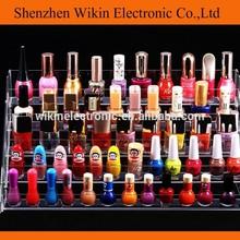 acrílico cosméticos de esmalte de uñas opi organizador de cosméticos