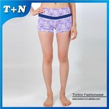 cheap girl compression sport seamless hot yoga short women