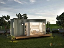 prefab mobile shipping container snack shop restaurant