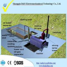 HOT SALE!!waste oil distillation machine plastic to oil to high quality diesel