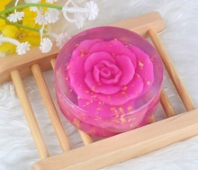 Natural flower essence hand made soap