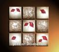 9 pcs panneau. formidable ag-a085 peintures à l'huile abstraite de groupe