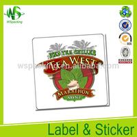 Wholesale lip ton tea label private label red label tea