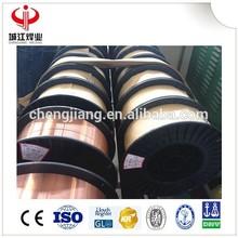ER50-6 sg2 1.0mm co2 copper coated soldering welding wires ER70s6 production supplier