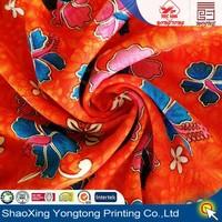 100 viscose rayon fabric in china fashion flower style