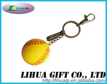 Foam Floating Playing Ball Keyring