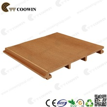 Exterior finishing material wooden wall slat