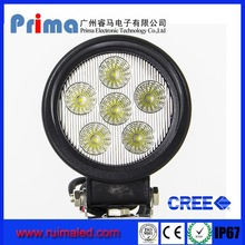 4.5inch 18w waterproof industrial ring led light LED work light for truck, agricultural, machine, heavy duty, boat, marine