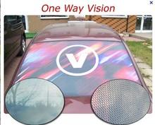 self adhesive one way vision vinyl window film