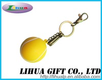 Squeeze Baseball Toy Keychain