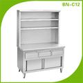 Restaurante cocina de acero inoxidable banco de la cocina venta BN-C12