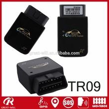 TR09 OBD II wireless car anti tracker gps