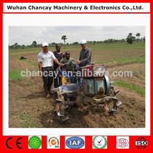 18-20HP motor diesel curta trator agrícola de trabalho nova 2wd fazenda andando atrás do trator com implementos