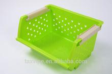 superposable configurations plastic storage box & racks