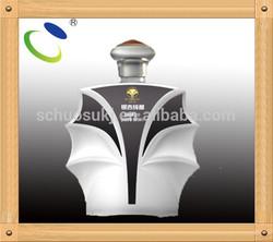 Item HSB32 made in China special design ceramic wine alcohol bottle for vodka,whisky